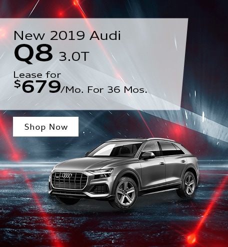 New 2019 Audi Q8 3.0T