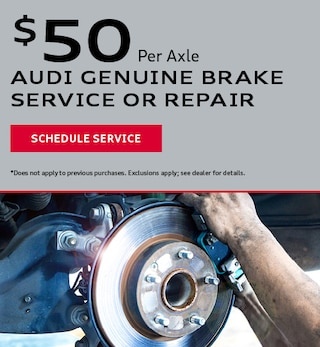 Audi Genuine Brake or Service Repair