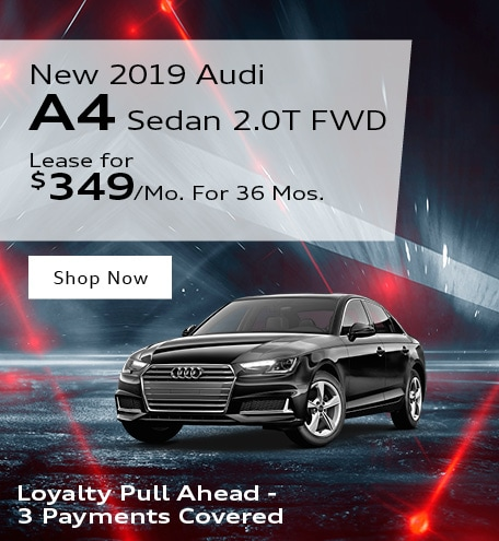 New 2019 Audi A4 Sedan 2.0T FWD