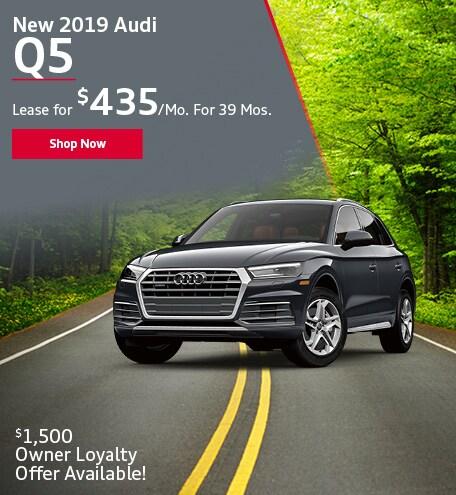 New 2019 Audi Q5 SUV