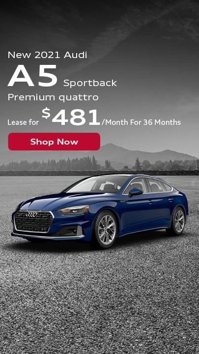 New 2021 Audi A5