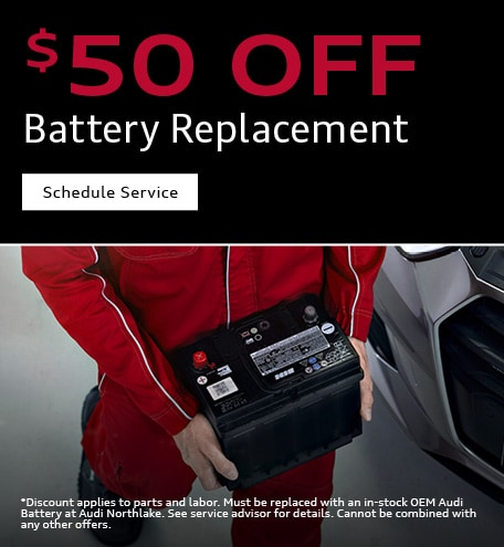 $50 Off Battery Replacement