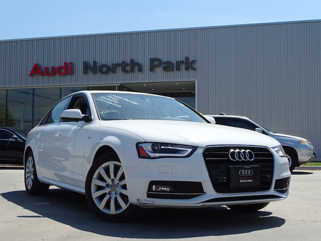 Certified 2016 Audi A4 2.0T Premium (Multitronic) Sedan near San Antonio