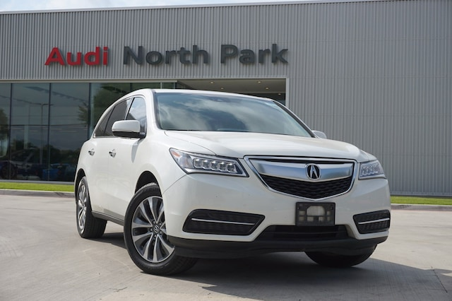 Used 2016 Acura MDX MDX with Technology Package SUV near San Antonio