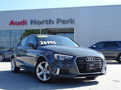 Certified 2018 Audi A3 2.0T Premium Sedan near San Antonio