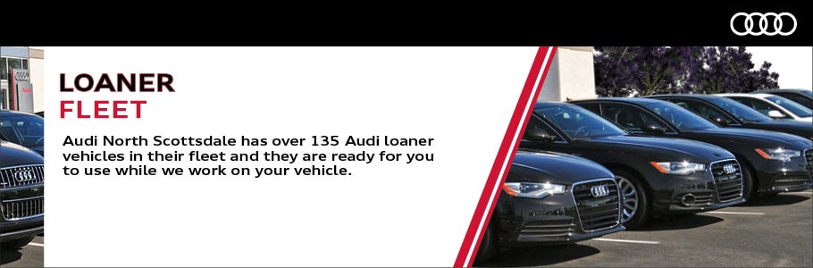 Preferred Audi Owner Benefits Audi North Scottsdale Phoenix AZ - Audi loaner car