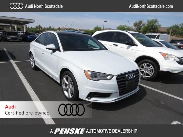 Certified Used 2016 Audi A3 quattro 2.0T Premium Sedan for Sale in Phoenix AZ