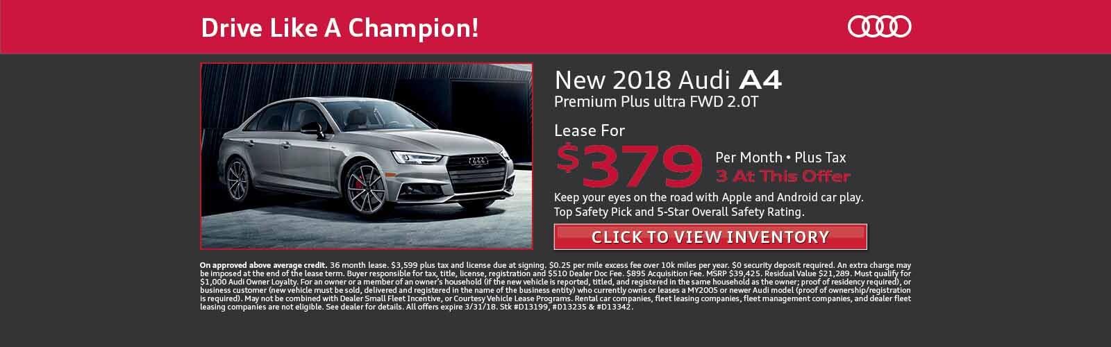 New Audi Used Audi Cars In Phoenix AZ Audi North - Audi car lot