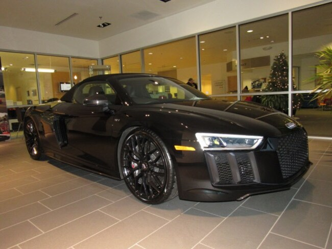 New 2018 Audi R8 5.2 V10 plus Spyder for sale near Milwaukee in Brown Deer, WI