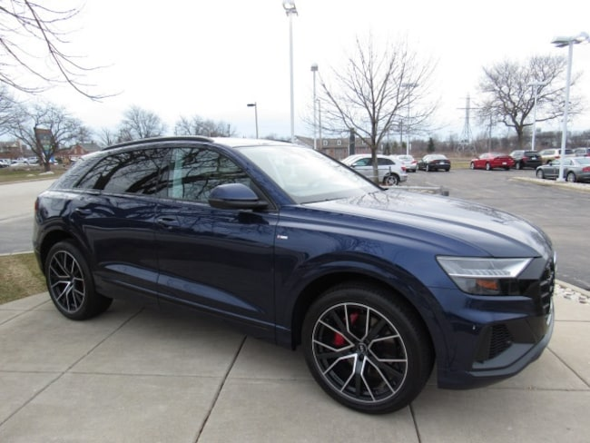 New 2019 Audi Q8 3.0T Premium Plus SUV for sale near Milwaukee in Brown Deer, WI