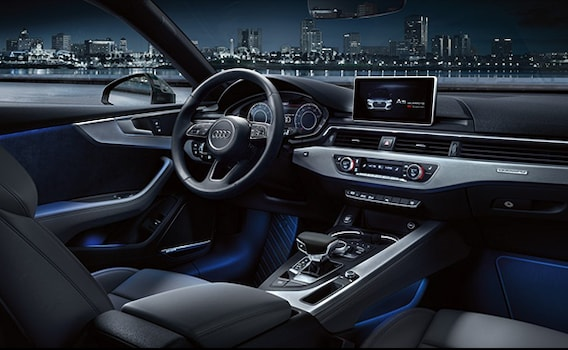 The all-new 2018 Audi A5 Coupe   Audi Norwell   Norwell, MA.   Audi A5 2017 Ambient Lighting      Audi Norwell