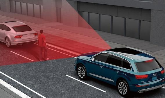 Audi pre sense front