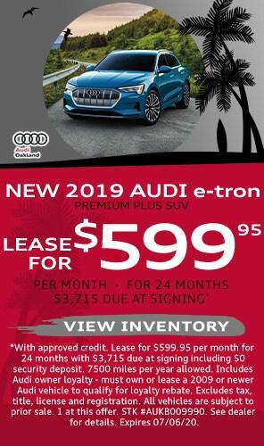 New 2019 Audi e-tron Specials