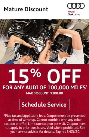 Mature Audi Discount in Oakland CA