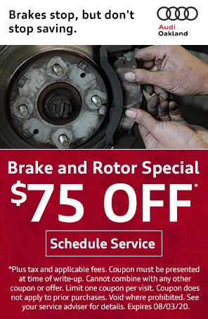 Brake and Rotor Special in Oakland CA