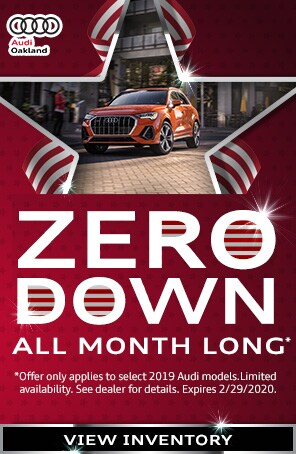 Zero Down All Month Long