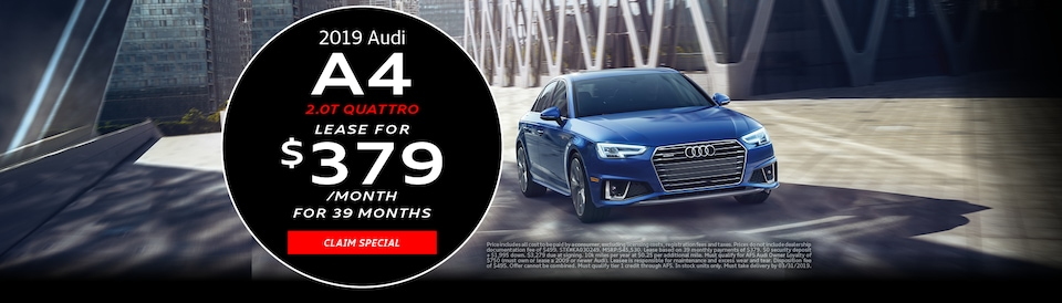 2019 Audi A4 March Offer