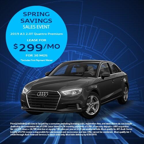 Spring Savings Sales Event