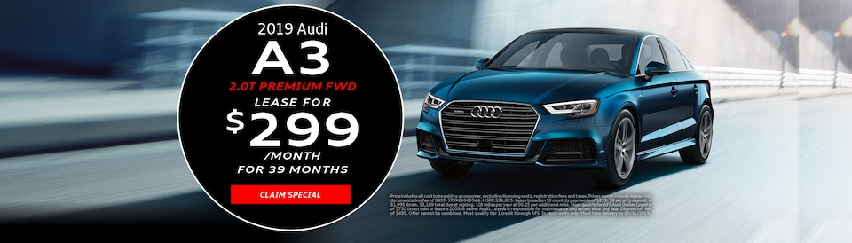 2019 Audi A3 March Offer