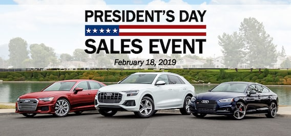 Audi Fletcher Jones - President's Day Sales Event