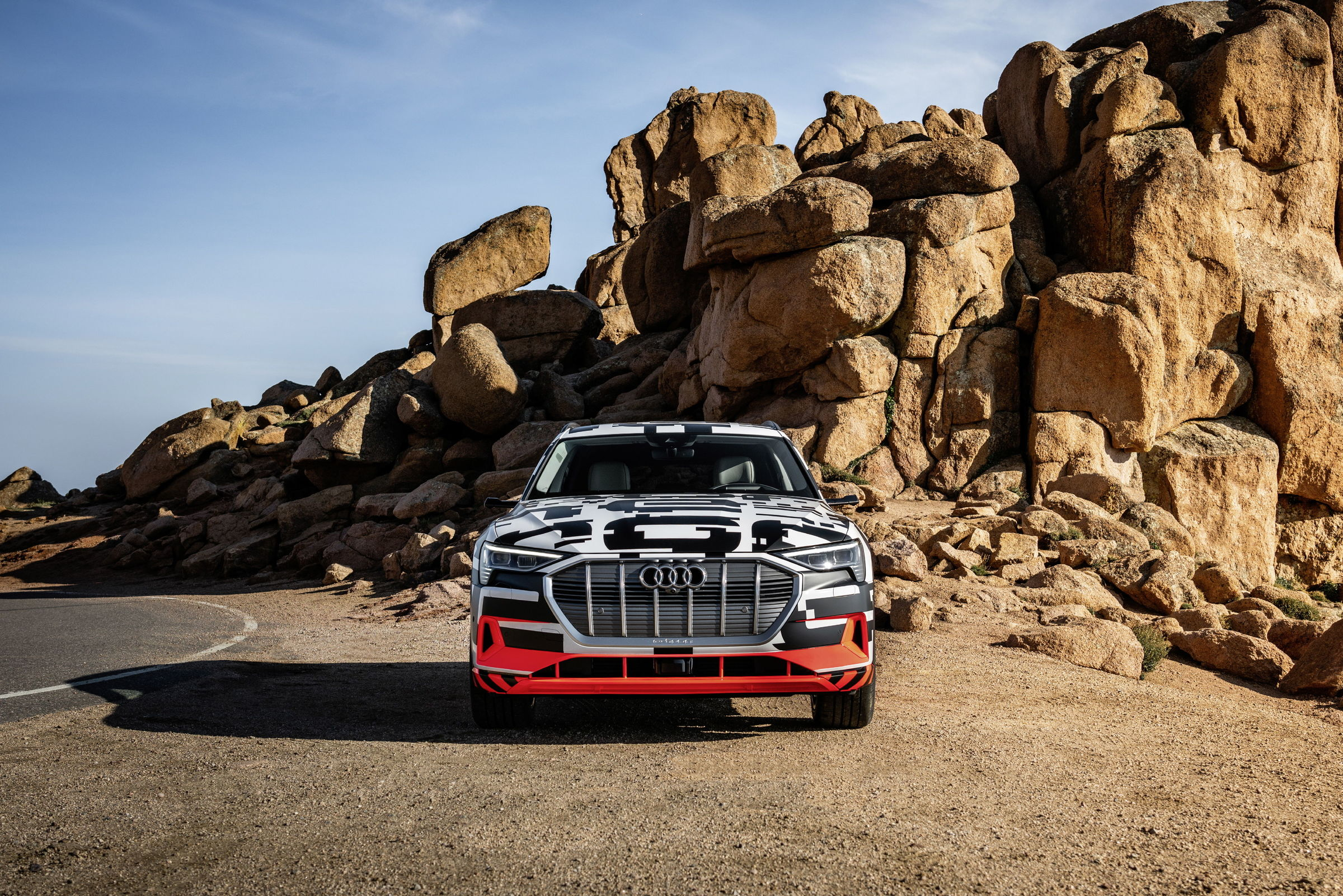 Prototype vehicle is shown throughout the article; not available for sale. Photos Courtesy of Audi USA.