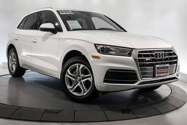 2018 Audi Q5 2.0 TFSI Premium SUV For Sale in Beverly Hills, CA