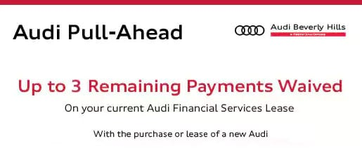 Audi Finance Specials Special Financing Options From Audi Beverly - Audi finance