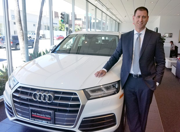 Audi Beverly Hills Welcoming Audi Beverly Hills New Service Manager - Audi beverly hills