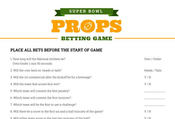 football betting games at home