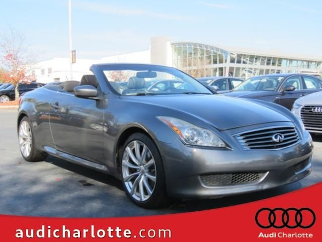 2010 INFINITI G37 Base Convertible for sale in Charlotte NC