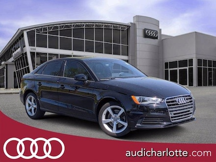 Featured pre-owned 2016 Audi A3 4dr Sdn FWD 1.8T Premium Car for sale in Charlotte, NC