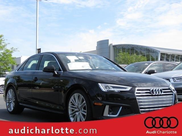 Featured new 2019 Audi A4 2.0T Premium Plus Sedan for sale in Charlotte, NC
