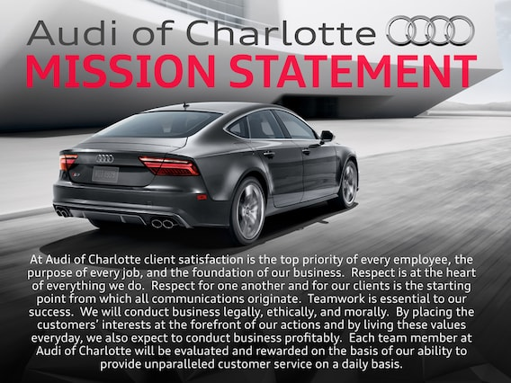About Us Audi Of Charlotte Luxury Cars Charlotte NC - Audi charlotte