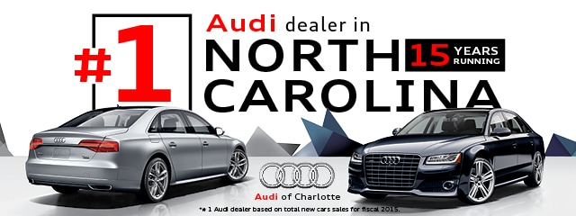 Audi Of Charlotte New Audi Dealership In Matthews Nc 28105