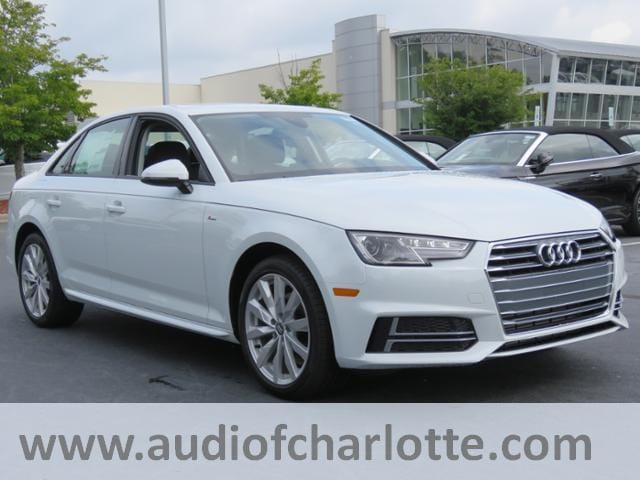 New Audi A Charlotte Northlake Area New Audi Sedan - Audi 2018 a4