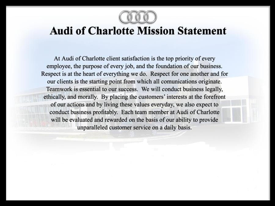 Used Car Dealerships In Charlotte Nc >> About Us   Audi of Charlotte   Luxury Cars   Charlotte NC