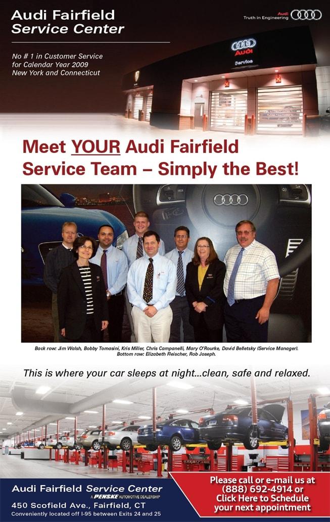 Audi Fairfield New Audi Dealership In Fairfield CT - Fairfield audi