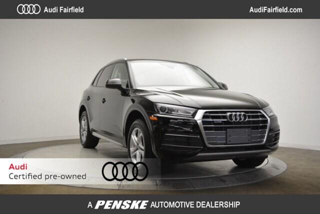 Certified Pre-Owned 2018 Audi Q5 2.0T Premium SUV Fairfield CT