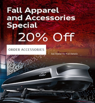Fall Apparel and Accessories Special