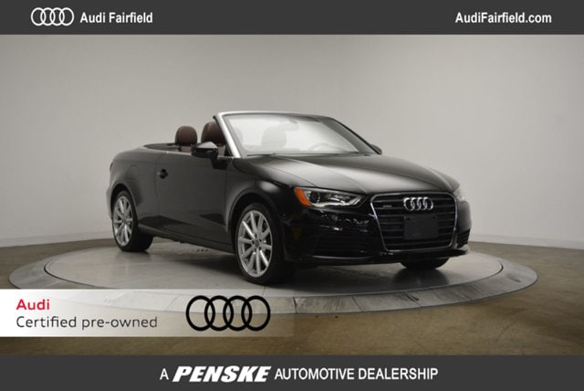 Pre-Owned 2015 Audi A3 Cabriolet 2.0T Premium (S tronic) Cabriolet in Fairfield, CT