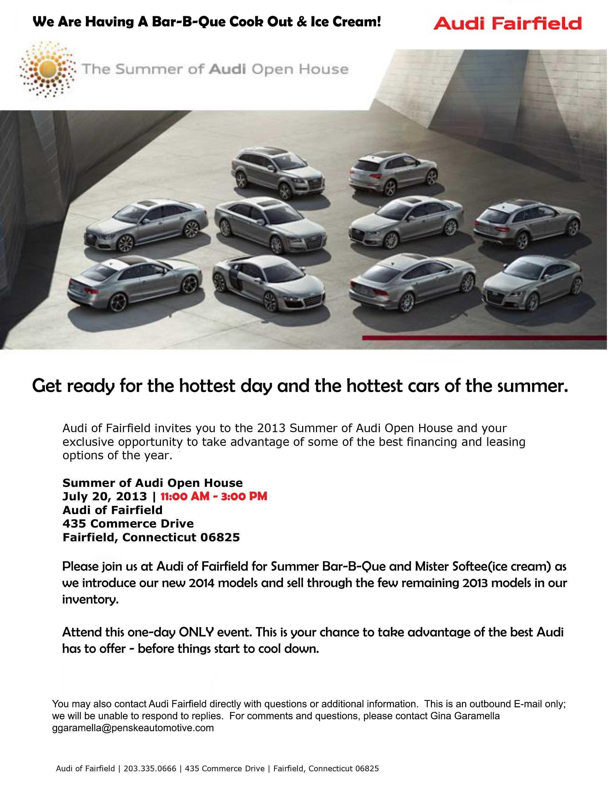 Audi Fairfield New Audi Dealership In Fairfield CT - Audi of fairfield