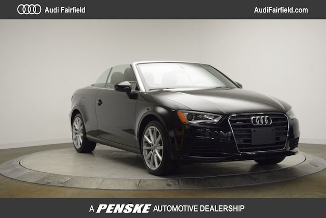 Used 2016 Audi A3 2.0T Premium Cabriolet for Sale in Fairfield, CT