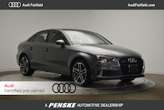 Pre-Owned 2018 Audi A3 Sedan 2.0T Sedan 1039616A WAUB8GFF3J1039616 in Fairfield, CT
