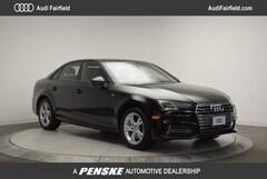 New 2018 Audi A4 2.0T Tech Premium Sedan Fairfield CT
