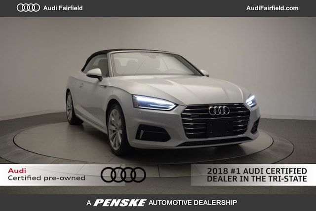 Used 2018 Audi A5 Cabriolet 2.0T Premium Cabriolet for Sale in Fairfield, CT