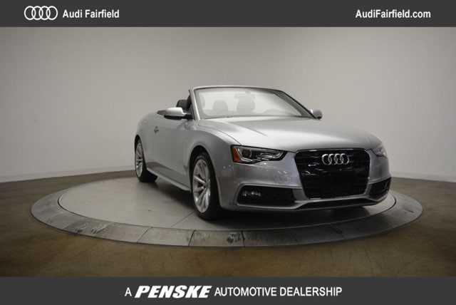Pre-Owned 2016 Audi A5 2.0T Premium Cabriolet in Fairfield, CT