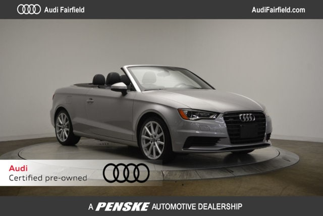 Certified Pre-Owned 2015 Audi A3 Cabriolet 2.0T Premium (S tronic) Cabriolet Fairfield CT