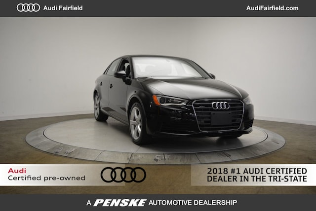 Certified Used 2016 Audi A3 2.0T Premium Sedan for Sale in Fairfield CT