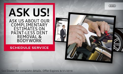 Audi Service Specials in Fairfield, CT