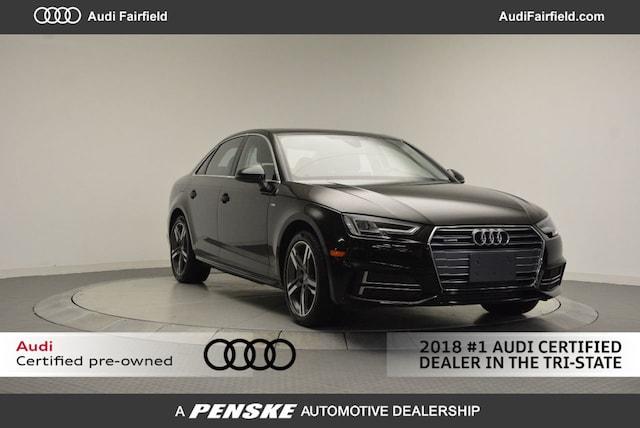 Used 2018 Audi A4 2.0T Premium Sedan for Sale in Fairfield, CT